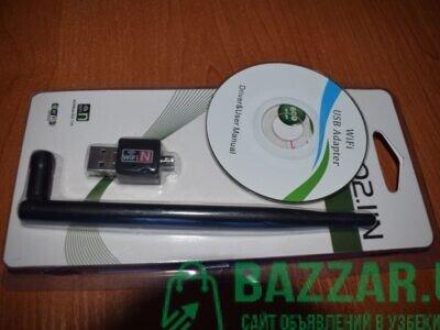 Wifi adapter 802.11 n 600mbps/Компютерлар учун таш