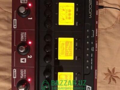 Процессор для бас гитары ZOOM B3