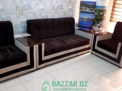 Продаю диван и два кресла практический новый