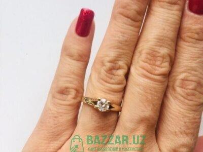 Бриллиантовое кольцо 0,53 карат из Италии