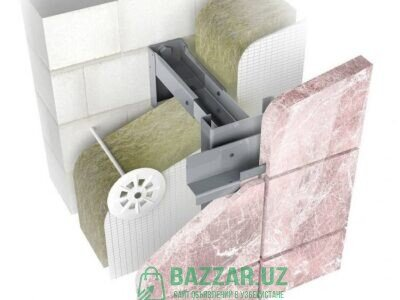 Подсистемы для вентилироемых конструксиях. Керомаг