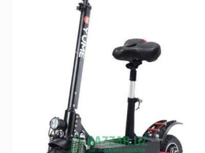 Продается новый электроскутер/электросамокат YUME