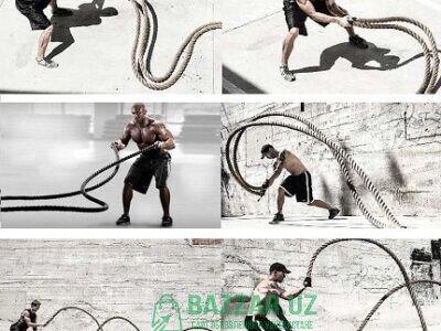 Канат тренировочный для кроссфита!!! 12м-15м!!! Ор