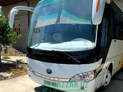 Продаётся туристический автобус Yutong можно на об