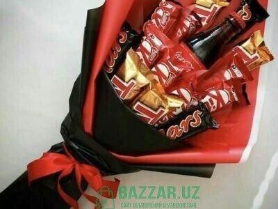 Шоколадные букеты, новот , кант.