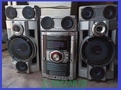Муз центр Sony (MHC-GN90D) CD/DVD/AUX