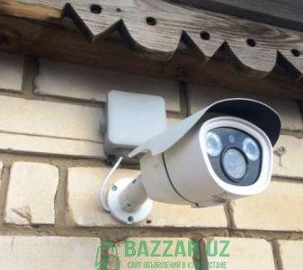 Монтаж систем видеонаблюдения HIKVISION Ташкент