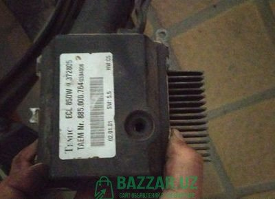 Mercedes Benz W220 вентилятор радиатора двигателя