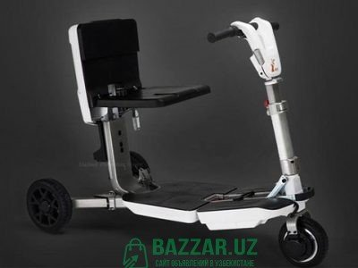 Складной электрический трёхколёсный скутер для пож