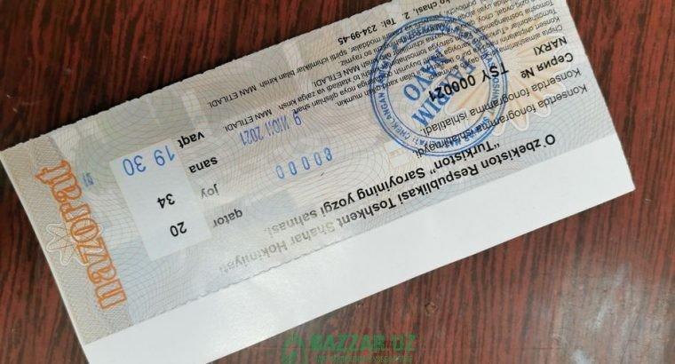 Bilet ARISTAKRATLAGA Turkiston sanat saroyida