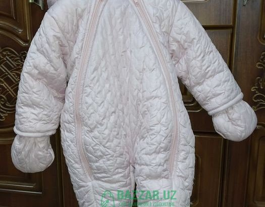 Куртка комбез, комбинезон 6-9 месяцев турецкая