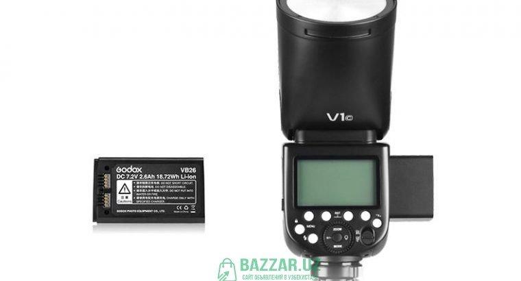 Вспышка Godox V1 для Canon Nikon Sony Fujifilm