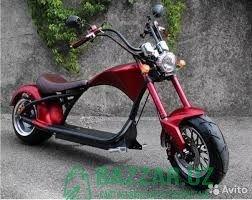 эксклюзивный электрический скутер! прав не надо!