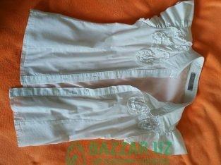 Рубашки школьные на девочку от 8 до 10 лет
