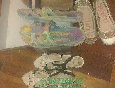 Женская обувь. Б.у.