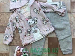 Новая одежда для девочек двойка