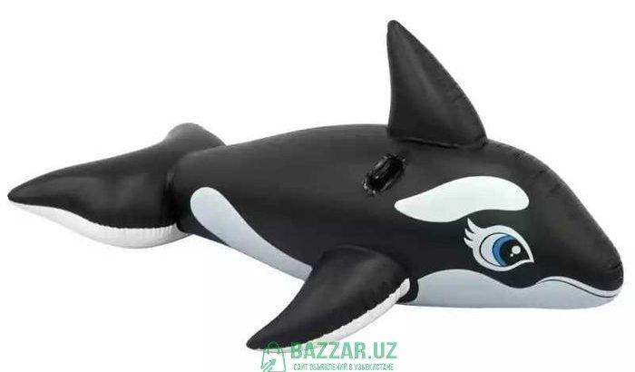 190 см надувной кит дельфин