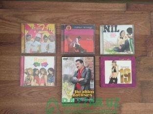 Музыкальные CD диски турецких исполнителей. Оригин