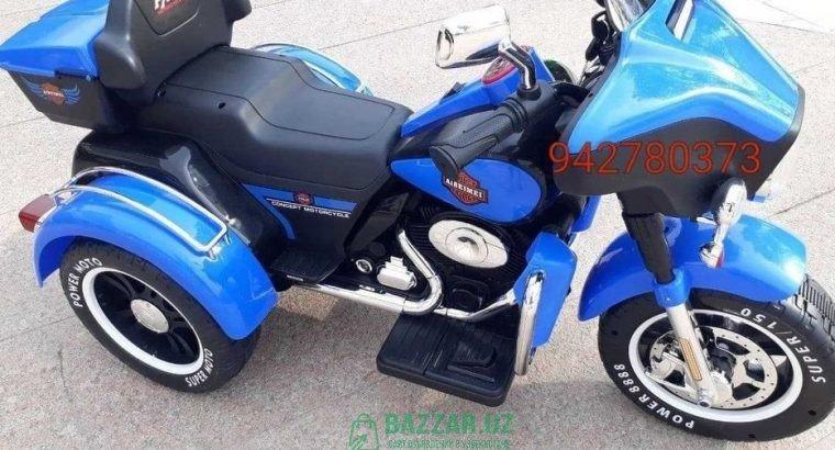 Большой детский мотоцикл