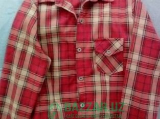 Рубашка теплая мягкая
