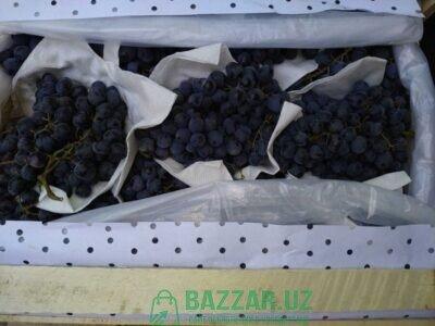 Виноград черный, Оптом 33 яшика предлогайте