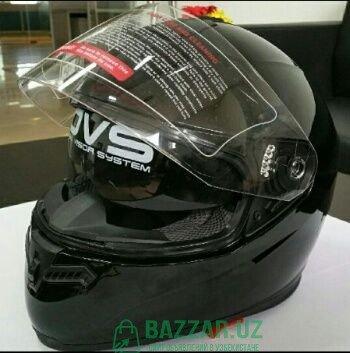 Шлем Double vision, черный матовый,