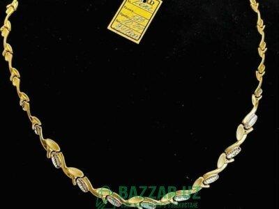 Золотое колье 10,44 гр. 585 проба, без камней