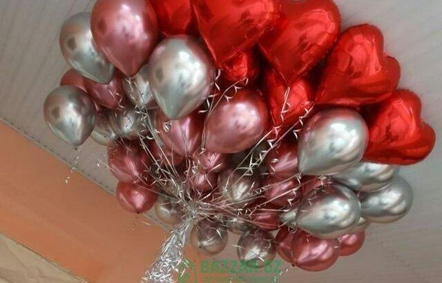 Воздушные шары Учар шарлар