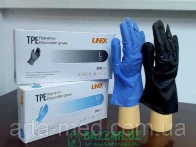 Перчатки TPE UNEX