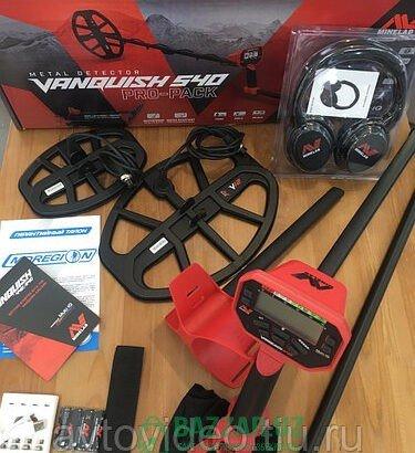 Металлодетектор Minelab Vanquish 540 Pro