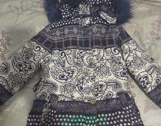 Продам куртку для девочки 6-8 лет