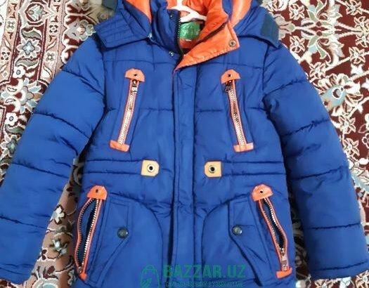 Зимняя куртка на мальчика 6-8лет