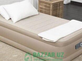 Надувной кровать Одноместный ( 191х97х46). БЕСПЛАТ