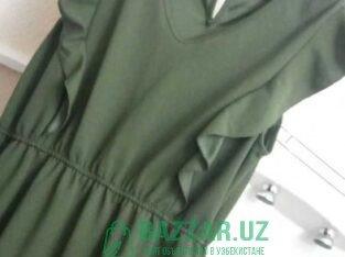 Платье длинное размер 48