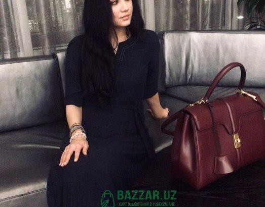 платье Armani exchange's синее в пол Классика недо