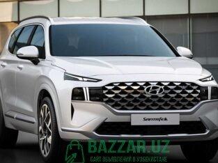 Hyundai SANTA FE 2021 (Yilliok ustama 8%) arenda L