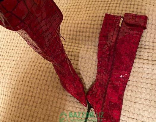 Дизайнерские сапоги Paolo Conte