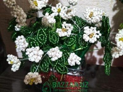Красивые цветы из бисера